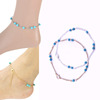 Women 2016 Cute Turquoise Beads Anklet