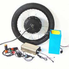 72v 3000w electric bike kit-battery included lithium battery powered bicycle kit