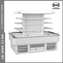 annular upright vegetable and fruit display cooler