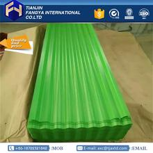 Professional types colored steel roof sheet corrugated sheet metal products with low price