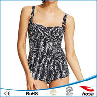 China good quality ruched gottex swimwear