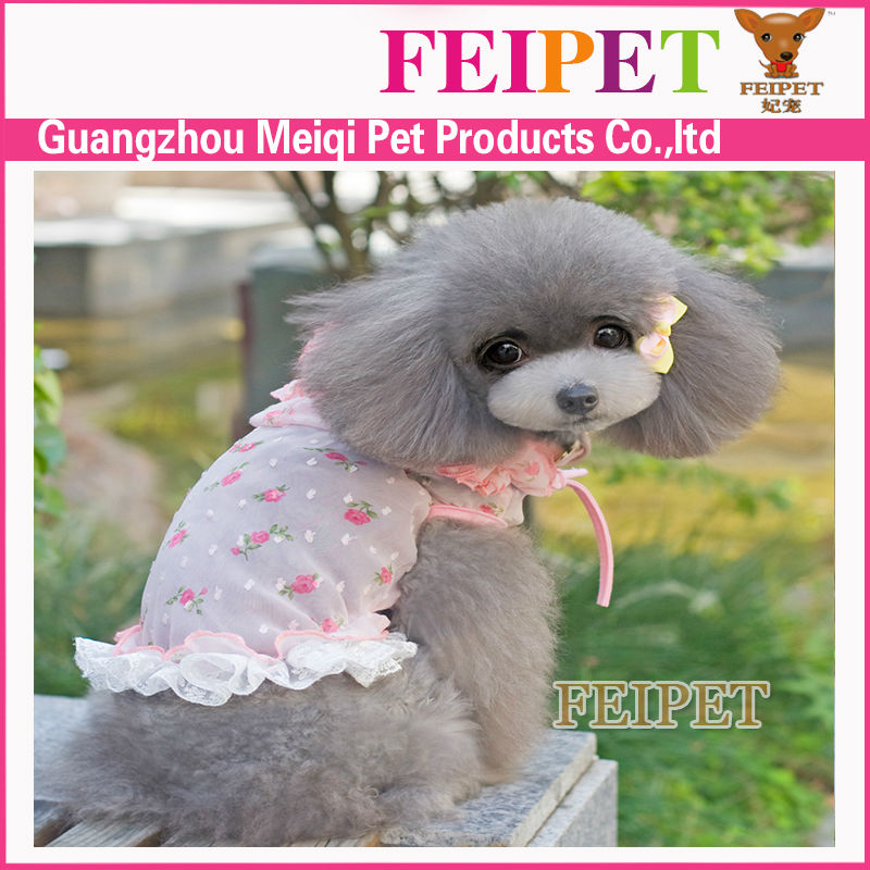 stylish see through dress for pets wholesale japan dog clothes