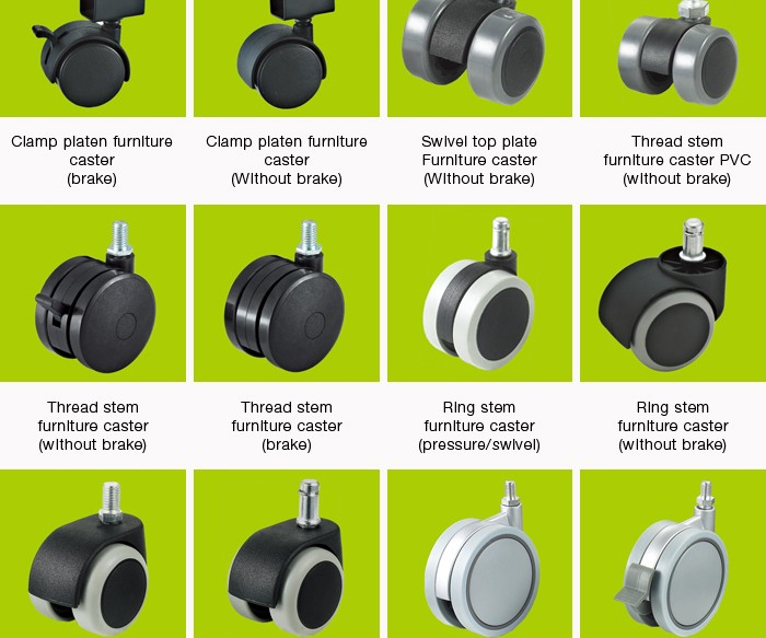 High Quality Nylon Glide Feet Good Price Adjustable Furniture Casters