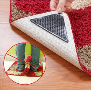 Eco- friendly corner rug grippers Manufacturers / Rug Grippers carpet Protector Best 4 pcs Anti Curling Rug Gripper