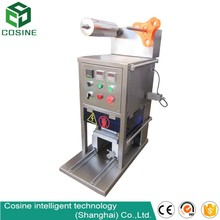 HY-Filling Beverage Application and Manual Driven Type machine for sealing plastic cups