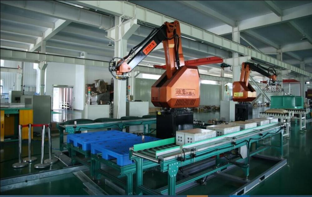 palletizer robot for bags/cartons/drum