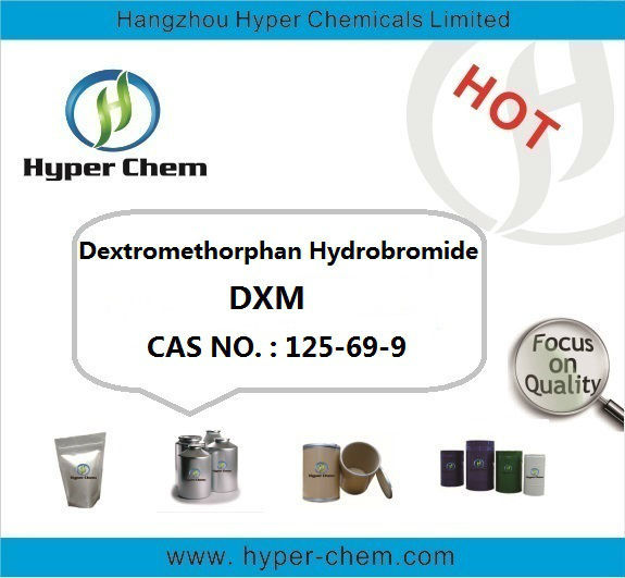 [HP90435] Dextromethorpha Hydrobromide CAS 125-69-9 / DXM powder/Trade assurance