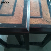 chinese antique wood nesting tables