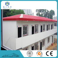 slope roof modular house prefabricated steel building cheap modular homes