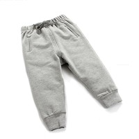 Hot Selling fleece fabric soft baby pants