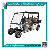 Used street legal golf cart, electric , 4 seats with cargo box, EEC approved