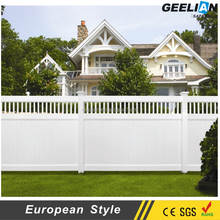 Competitive Cheap Fence Widely Used White dark brown vinyl lattice panels