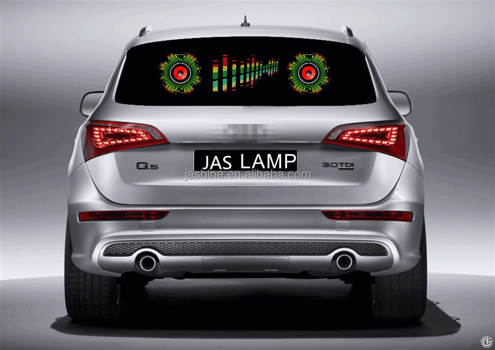 New Wholesale auto car music activated led disco lights