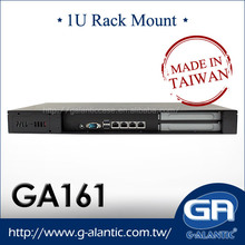 GA161 - 1U Mini itx 19 inch Rack mount Server Case