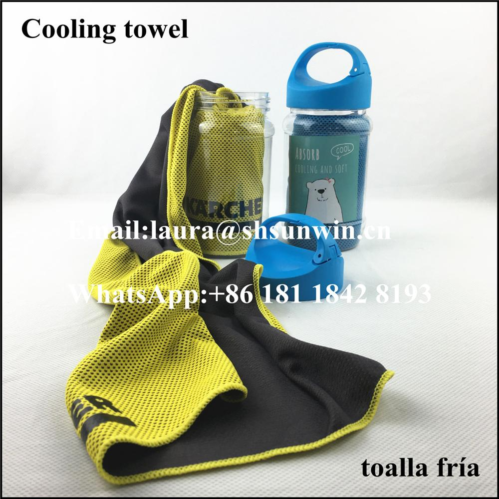 Cooling Towel for Instant Relief - Cool Bowling Fitness Yoga Towels -Use as Cooling Neck Headband Bandana Scarf,Stay Cool