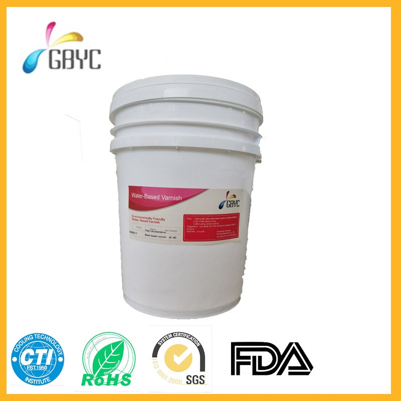 GB900-7 Rub resistance water-based varnish for paper and wholesale price