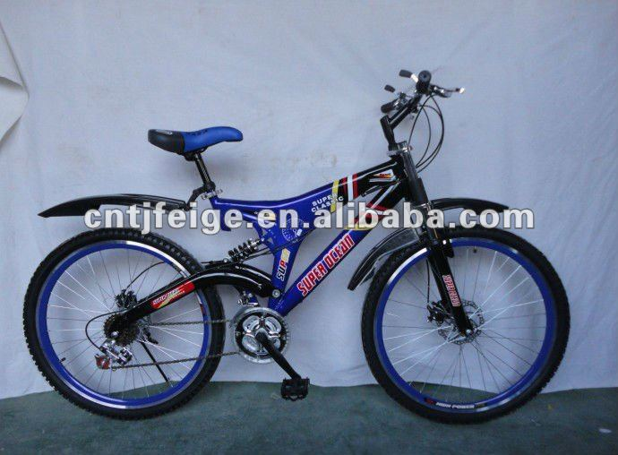 "26""steel suspension MTB bike with high quality bike/bicycle/cycle"