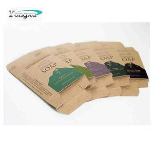 free sample high quality eco friendly customized brown kraft paper packaging box