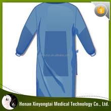 Cheapest With High Quality Disposable SMS Pateint Surgical Gown With M To XXL Pattern