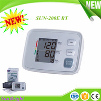 Bluetooth 4.0 arm BP monitor medical Sunbright low price blood pressure monitor