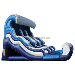 2015 adult inflatable spiral water slide for sports game