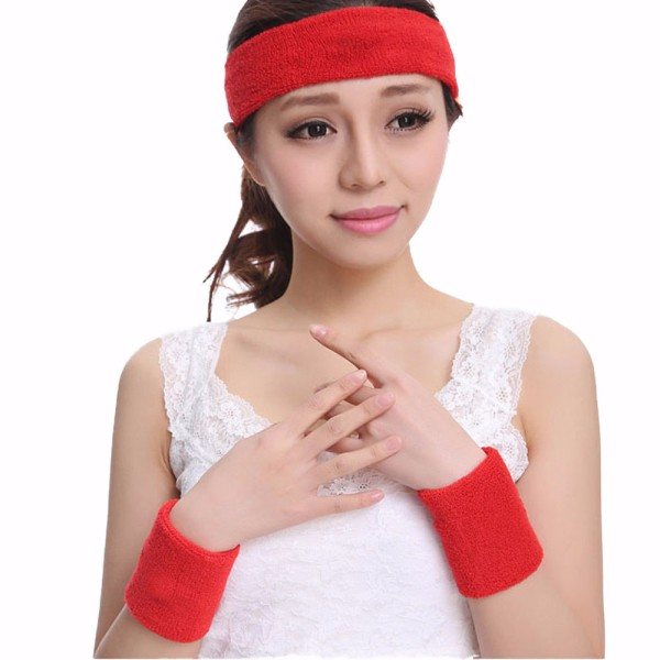 New Soft Cotton anniversary cotton headband custom headband Tennis Gym Yoga Sports