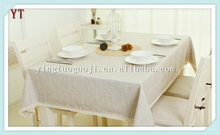 wholesale cheap pure 100% flax cheap pure organic table cloth linen fabric