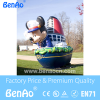 AC022 Inflatable Minichey mouse/inflatable cartoon mickey mouse for advertising