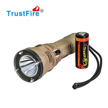 DF001 1* CREE XM-L- 2 diving torch led 650 lumen powerful diving flashlight torch waterproof lamp