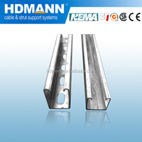 Corrorion resistant hot dipped galvanized unistrut channel OEM supplier