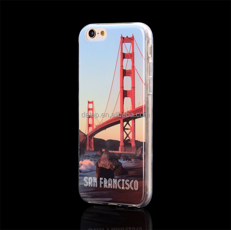 mirror effect for iphone 6 case, shiny finishing case, tpu case for iphone 6