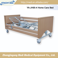 5-function electric nursing care bed with full length side rails