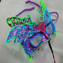 El wire lighting mask for party, festival