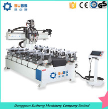 Wholesale 2m four cutters CNC seat mortising machine cutter head wood curving machine