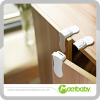 Right angle wooden drawer safety lock ,childproof right angle safety lock