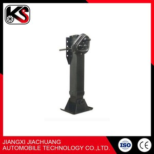 Reasonable price 28T trailer jost type landing legs for container support stabilizer