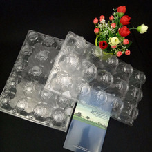 10 holes packs plastic blister thermoformed vacuum eggs trays