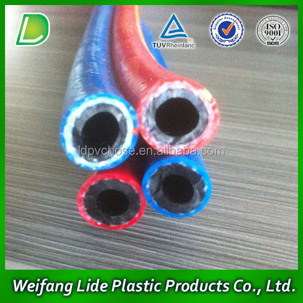 10mm Cheap Braided PVC LPG Gas Hose for Gas Cylinder