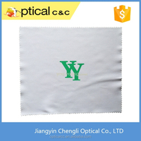 Silk Screen Printing Microfiber Eyeglasses Cleaning Cloth