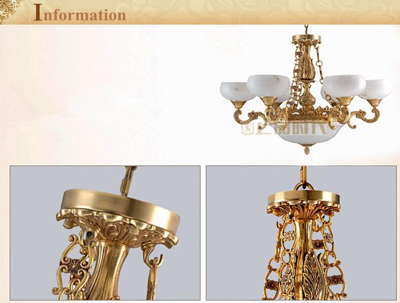Modern Spain Alabaster Light Chandelier With 12 Lights