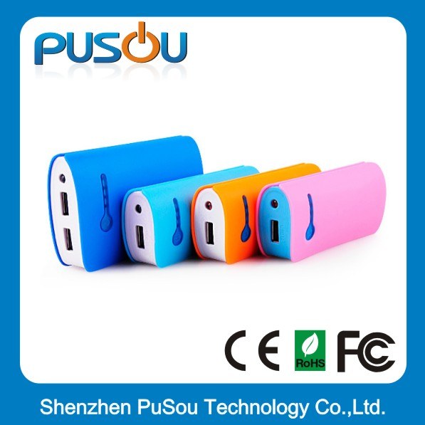 Wallet-shaped Power Bank with LED Torch, Double-USB Output, Classical Chinese Style