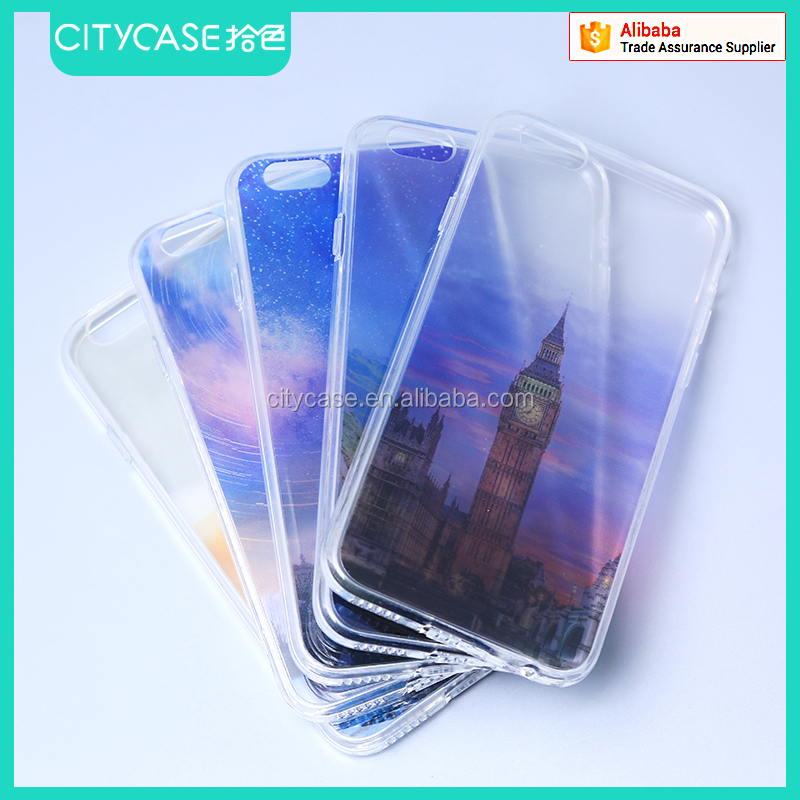 city&case latest cellphone case cover customize for iPhone 6 plus