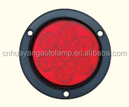 "4"" LED round Stop/turn /tail light for truck,for heavy duty car"