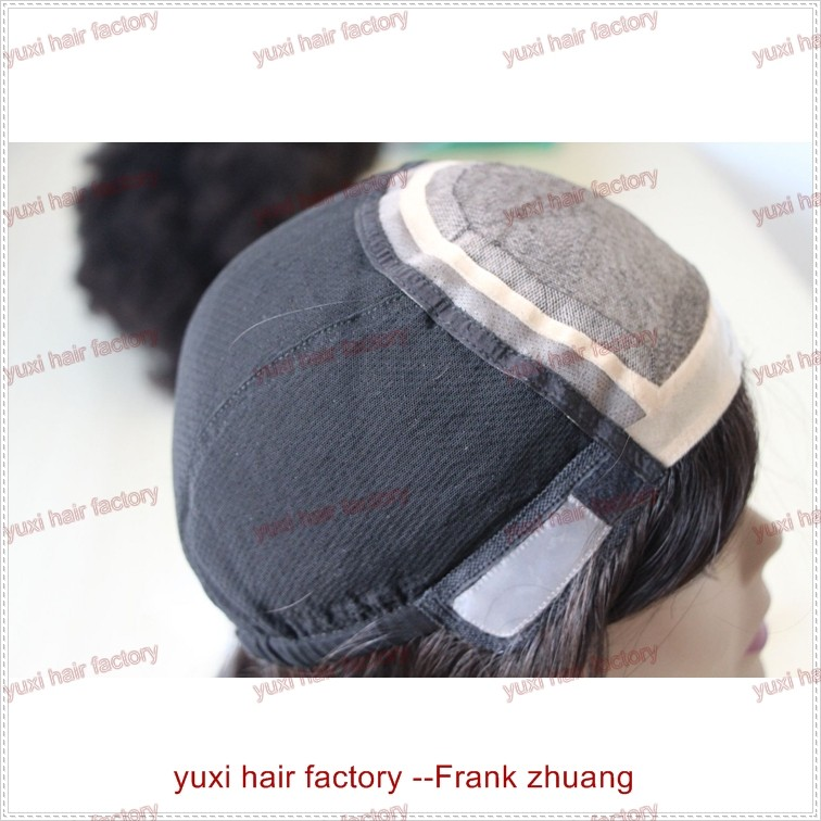 high quality perfect glueless silk top full lace wig