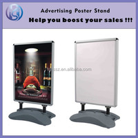 Water base Aluminum Snap Frame Poster Board ,Advertising Board, POP Display H14