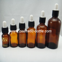 15ml glass skull bottle with child proof dropper(FGB-15)