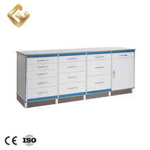 China wholesale mobile dental furniture cabinet with Stainless steel handle