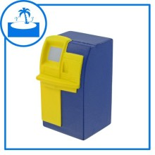 Yinjia supplier cheap promotional gift imprinted logo custom PU Foam ATM Machine Stress Toy