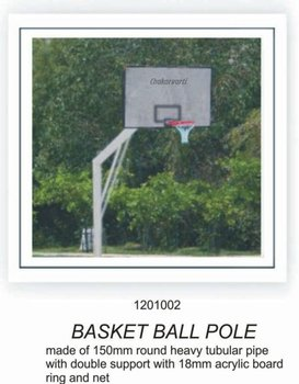 Basketball Ball Pole
