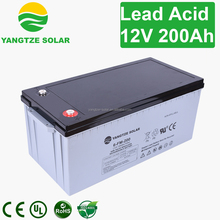 8 years life span 12v 250ah agm battery for solar storage